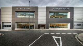 Nuevas instalaciones de Navarra Motor, concesionario de Jaguar y Land Rover