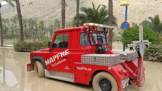 Mapfre gestiona más de 4.000 incidentes en automóviles a causa de los temporales
