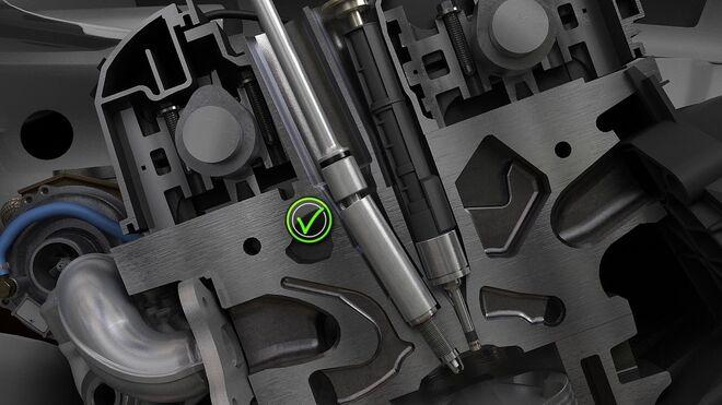 ¿Cómo se instala una bujía en los motores N43 de BMW?