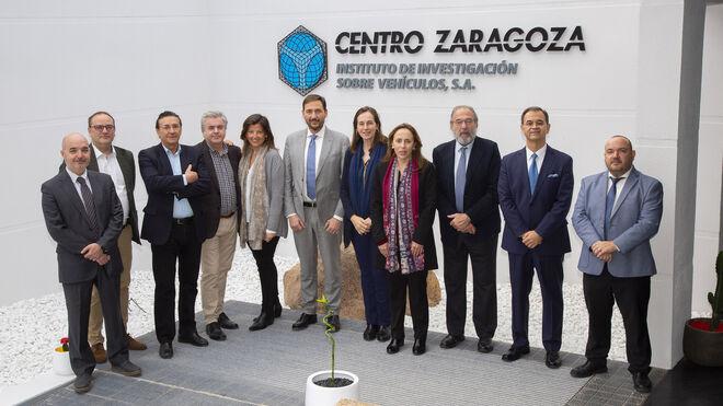 El equipo directivo del Consorcio de Compensación de Seguros visita Centro Zaragoza