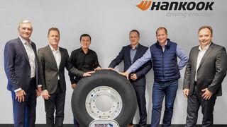 Hankook y Schmitz Cargobull amplían su relación estratégica hasta 2022