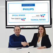 Philips, nuevo partner oficial del equipo de Teo Martín Motorsport