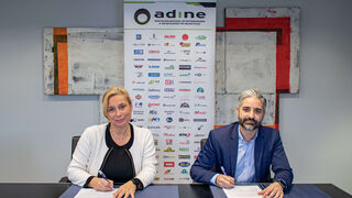Adine firma un acuerdo con Aenor para fomentar la formación de sus asociados