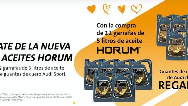 PRO Service inicia la preventa del nuevo Horum Aceite en sus nueve variedades