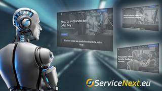 ServiceNext.eu, la nueva plataforma de servicios para el taller de Serca