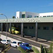 Herido grave un hombre al caer del techo de un taller de chapa en Arrecife (Lanzarote)