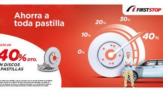 First Stop ofrece descuentos de hasta el 40% por el cambio de pastillas y discos de freno