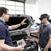 Bosch forma a los talleres con la ayuda de la realidad aumentada