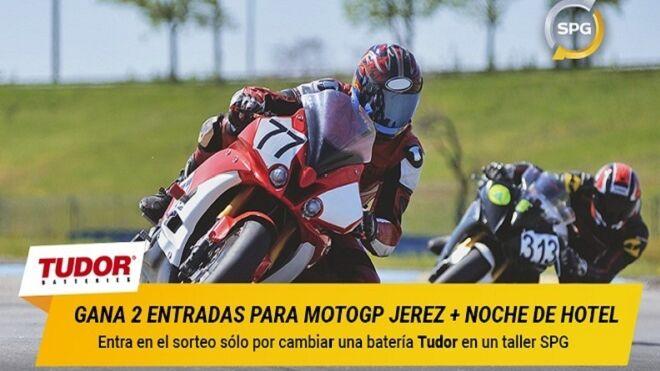 Tudor y SPG sortean entradas para el Gran Premio de Jerez de MotoGP