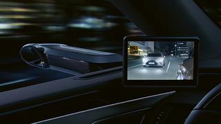 Lexus ES 300h incorpora retrovisores digitales de visión lateral