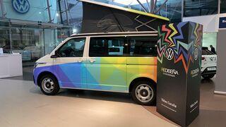 """Los premiados de """"Rediseña tu Volkswagen"""", el concurso del concesionario Yáñez (A Coruña)"""