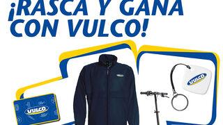 """Gana un premio seguro con el """"rasca y gana"""" de Vulco por compras superiores a 150 euros"""