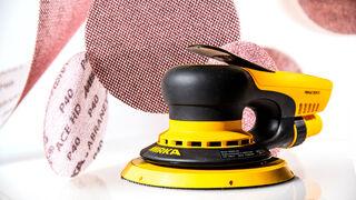 La apuesta de Mirka: combina la lijadora Mirka Deros 680 y el abrasivo Abranet Ace HD
