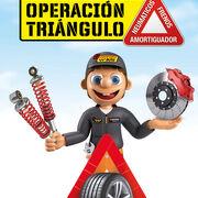 """El """"triángulo de seguridad"""" de Confortauto: neumáticos, amortiguadores y frenos"""