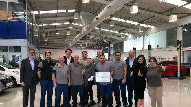 Autiber Motor (Valencia), premio a la Certificación Hyundai Pro Philosophy