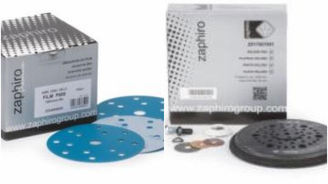 Zaphiro lanza los nuevos discos de lijado Silver y los platos multiperforados