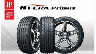 El neumático NFera Primus de Nexen Tire gana el premio iF Design 2020
