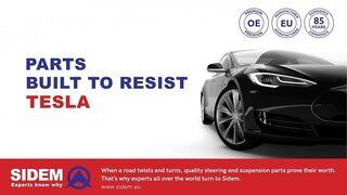 Sidem inicia la producción de piezas para Tesla
