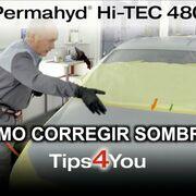 Spies Hecker muestra cómo aplicar el Permahyd Hi-Tec 480 en el capó de un coche