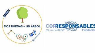 """El plan """"Dos ruedas= un árbol"""" de Norauto, reconocido por  su compromiso medioambiental"""