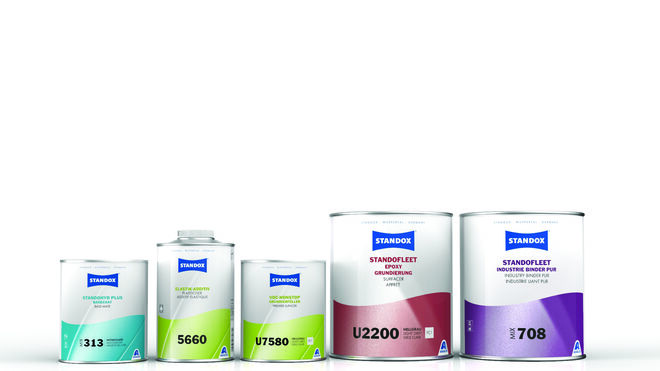 Standox renueva el etiquetado de sus envases