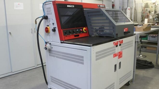 AS-PL, pionera en disponer de la máquina de pruebas D&V Electronics Bsg-198