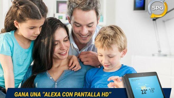 SPG sorteará 4 Alexas con Pantalla HD entre sus clientes de marzo
