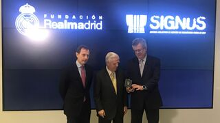 Signus, nuevo colaborador de la Fundación Real Madrid