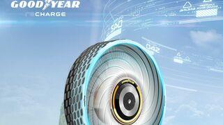Goodyear reCharge: el neumático conceptual y autorregenerativo de Goodyear