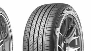 Tres neumáticos de Kumho Tyre premiados con el Good Design de Norteamérica