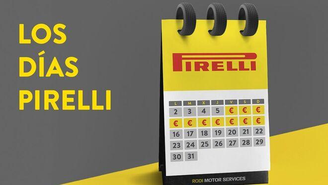 Rodi regala hasta 60 euros en cheques taller por la compra de neumáticos Pirelli