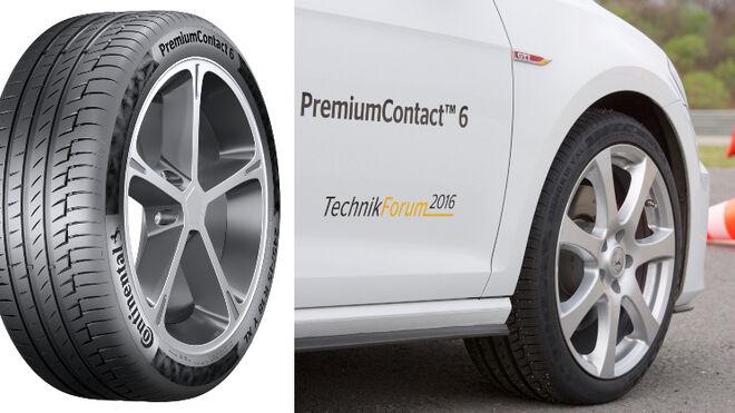 PremiumContact 6 y EcoContact 6 de Continental, a la cabeza de los test ADAC, TCS y ÖAMTC
