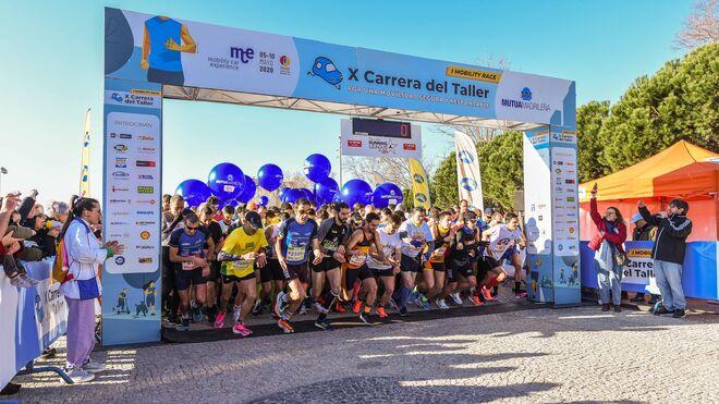 """Más de 3.000 participantes en la """"I Mobility Race: X Carrera del Taller"""""""
