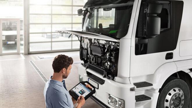 Bosch regala el módulo de diagnosis KTS Truck por la suscripción a ESI[tronic] Truck