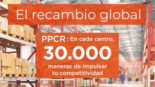 PPCR, 30.000 referencias y máxima capacidad de servicio