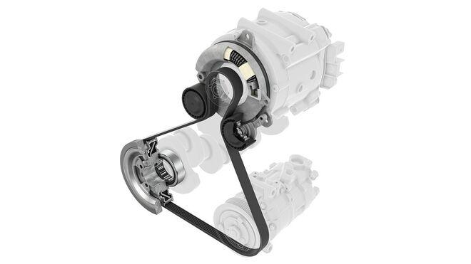Schaeffler presenta la primera solución de mantenimiento para híbridos de 48 voltios