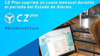 Centro Zaragoza no cobrará la cuota fija mensual de CZ Plus durante el estado de alarma