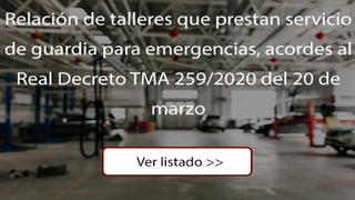 Estos son los talleres oficiales abiertos en Madrid para servicios de urgencia
