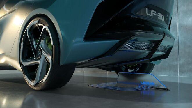 Así es el prototipo de Goodyear para el coche eléctrico del futuro de Lexus