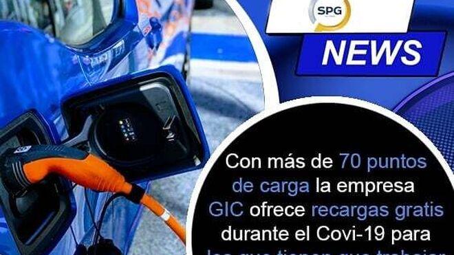La empresa GIC ofrece recargas gratuitas de eléctricos durante la crisis del coronavirus
