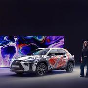 ¿Vehículos tatuados para el futuro? Lexus crea el primero en el mundo