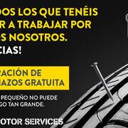 Rodi repara pinchazos de forma gratuita a los particulares que trabajan en estado de alarma
