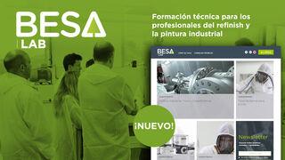 Besa Lab, la nueva plataforma digital para los profesionales del taller de pintura