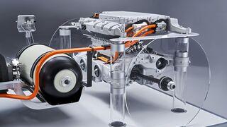 Así será el sistema de propulsión del vehículo de hidrógeno de BMW