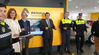 """""""Renault al rescate"""" colabora en la protección de la Policía Local durante el coronavirus"""