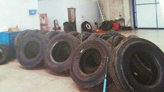 Tres detenidos por intento de robo de neumáticos en un taller de Ciudad Real