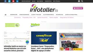 Infotaller sufre una caída temporal de su web