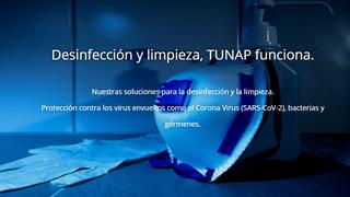 La solución en limpieza y desinfección de TUNAP para talleres