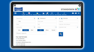 Standowin iQ, la aplicación de Standox para la gestión digital del color, ya disponible