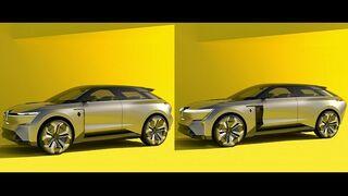 Renault crea un nuevo coche con una carrocería que crece y se encoge